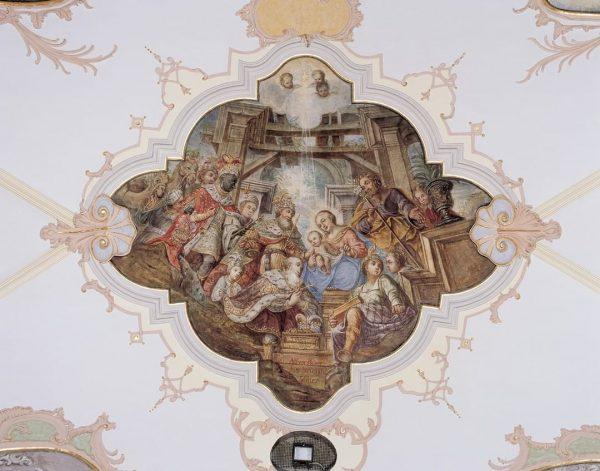 Ein besonderes barockes Kunstwerk ist die Pfarrkirche St. Gallenkirch. Hier hat der Maler Christoph Klausner 1775 einen...