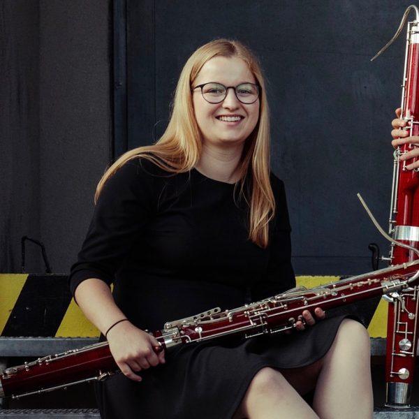 Unsere Fagottistin fürs Schubert Oktett: Anja Niederwolfsgruber Let's go 😊