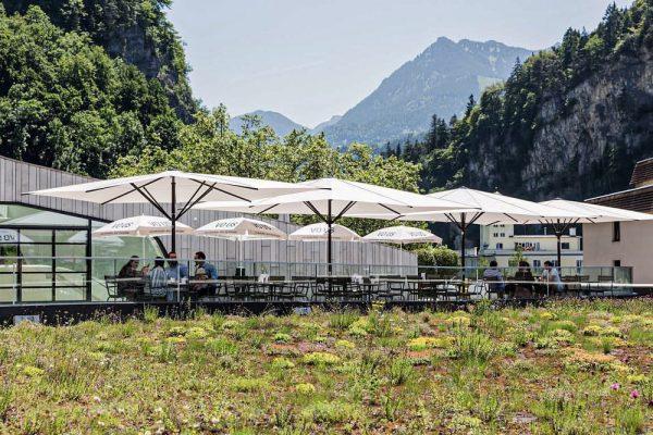 Mittagsmenü mit Aussicht inkludiert 😉🏔 Restaurant E3 im Montforthaus