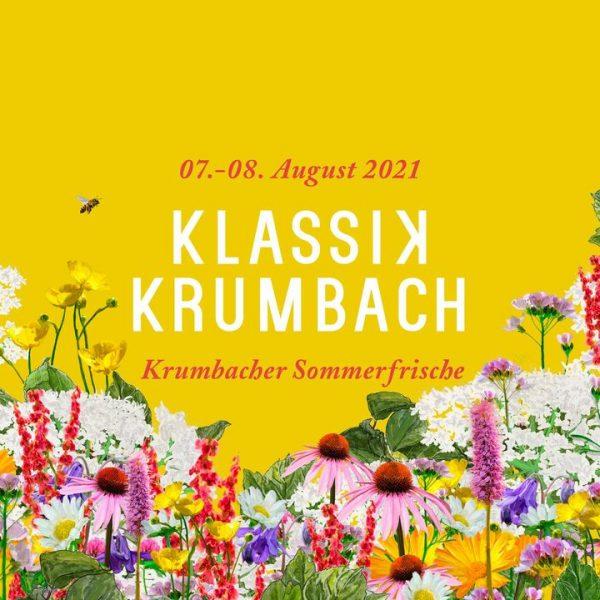 #KlassikKrumbach2021 Die Vorfreude ist riesig: Klassik Krumbach findet dieses Jahr am 8. und 9. August statt! Programm...
