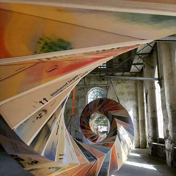 TWIST #3 schraubt sich durch den Kunstraum Dornbirn #Peter Sandbichler #UNPREDICTABLE #Dornbirn #kunstraumdornbirn ...