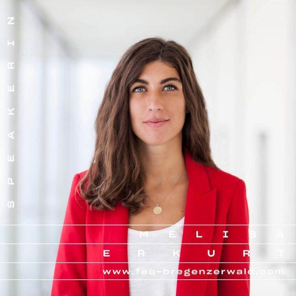 Melisa Erkurt. Autorin, Journalistin, Publizistin. Dieses Jahr beim FAQ Bregenzerwald! 🌲💌 30.08. bis ...