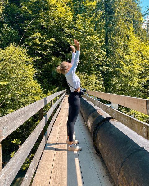 back to leggings & nature 😋🍃 #daytrip #nature #österreich #natur #bregenzerwald #bregenz #rappenlochschlucht ...
