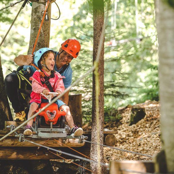 Wisst Ihr schon, wie Ihr den Vatertag verbringt? 👨👧👦 Wenn nicht, dann haben wir mit dem Waldseilpark-Golm...