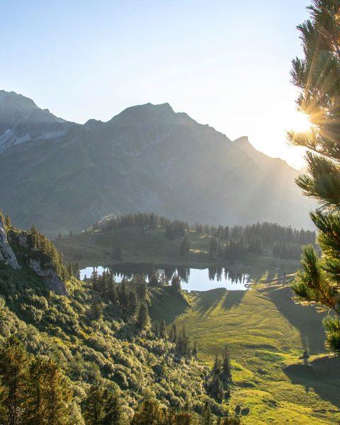 Moments in my home mountains! 🇦🇹🏔😍 #vorarlberg #alps #hike Vorarlberg