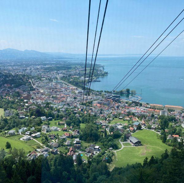 #bregenz #bodensee #lakeconstance #österreich #austria #pfänder #pfänderbahn #travel #couplegoals Bregenz Bodensee