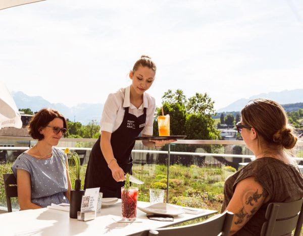 #spritzoclock 🍹 Reservierungen: 0552290093366 Restaurant E3 im Montforthaus