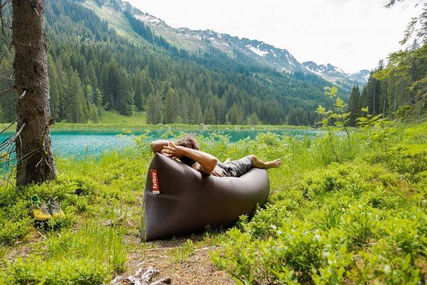 Was wir an Sommer-Sonntagen am liebsten machen? Wir chillen am Herzsee auf unserem ...