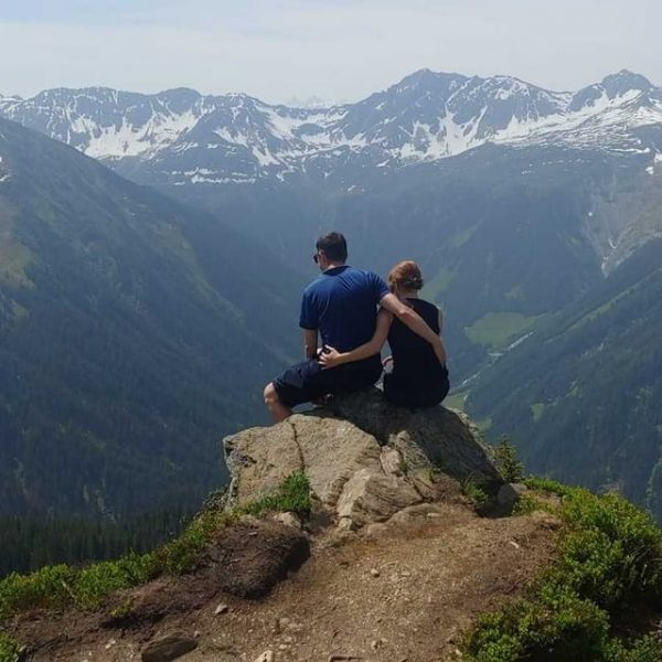 Der 1. Gipfel ist geschafft - Kristberg - Muttjöchle immer wieder schön - ...