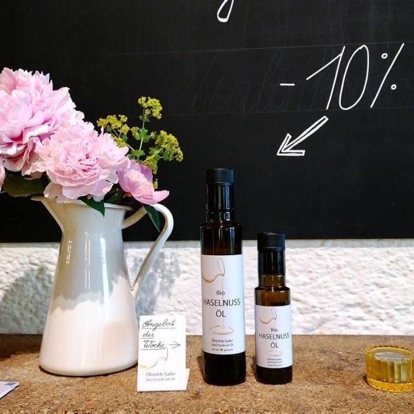 Unser Angebot der Woche 💮 -10% auf unser leckeres Bio-Haselnussöl 😊 #Angebot #angebotderwoche ...