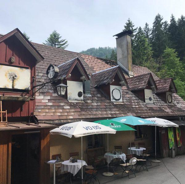 #badkehlegg #kunstimwald Kehlegg, Vorarlberg, Austria