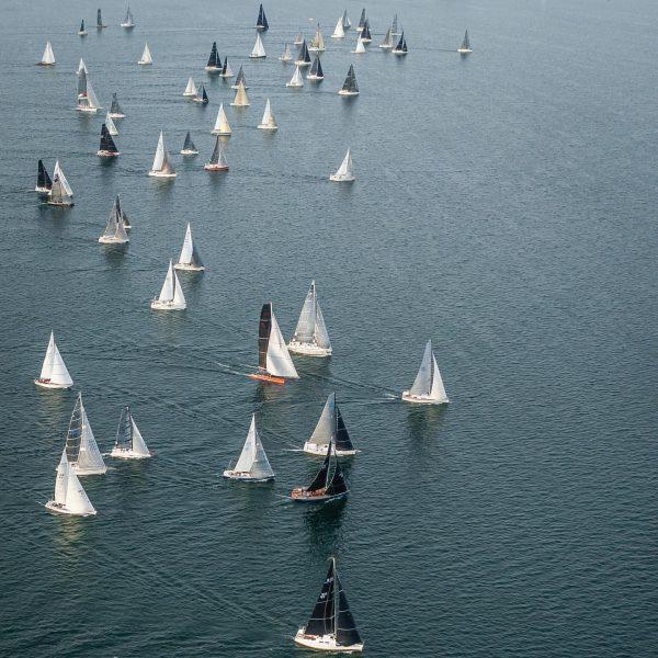 Bei der Zweihand Rund-um am Samstag 19. Juni waren auch fünf BSC Schiffe ...