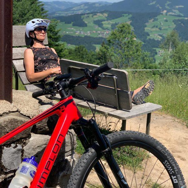 Geführte MTB Tour bei Traumwetter #vacation #mountains #restaurant #hotel #austria #urlaub #mountainbike #alps ...
