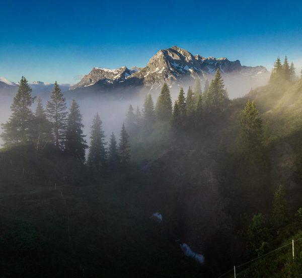 A mystical morning in Oberlech 🏔🤩 #postlech #lechzuers @lechzuers Oberlech, Vorarlberg, Austria
