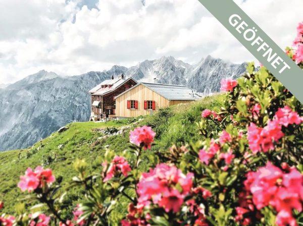 Hurra! Wir starten heute in den #bergsommer ⛰ Die Kaltenberghütte auf 2.100 M ...