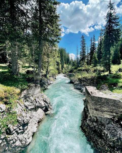 Along the Lech...💙 GOOD NEWS: The Lechweg Trail is completely walkable again from the source to the...