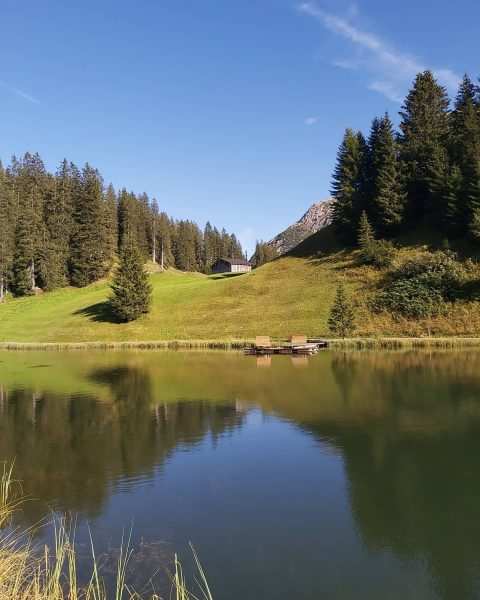 Take a trip to the Austrian Alps to discover beautiful lakes such as ...