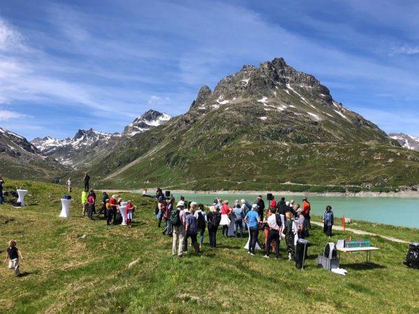 Traumhafte Bedingungen bei unserer heutigen KUB Freunde Exkursion auf die Bielerhöhe im Montafon ...