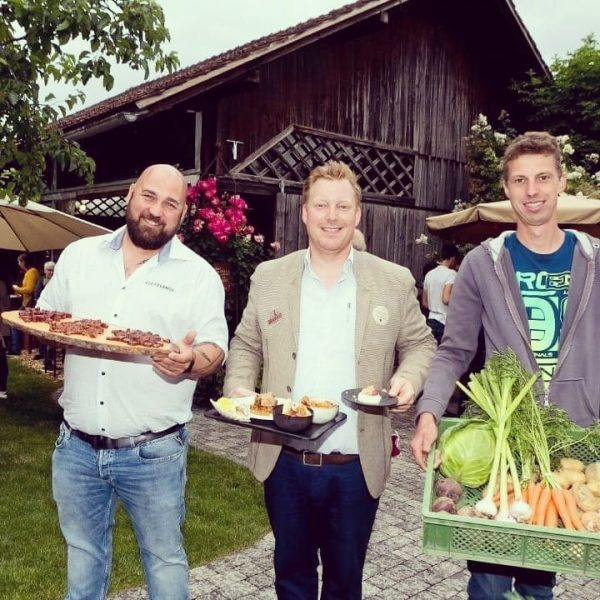 Flanieren, Degustieren, ins Gespräch kommen und Genießen: Beim Slow Food Spaziergang vergangene Woche ...