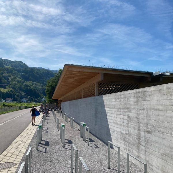 #architektontour #wahlheimat #innauermattarchitekten #strandbadlochau #bodensee #kollegenlobenkollegen Lochau Strandbad