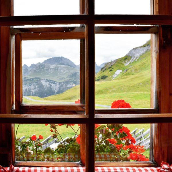 En un algún lugar de Vorarlberg. Detrás de una ventana se esconde un mundo de posibilidades por...