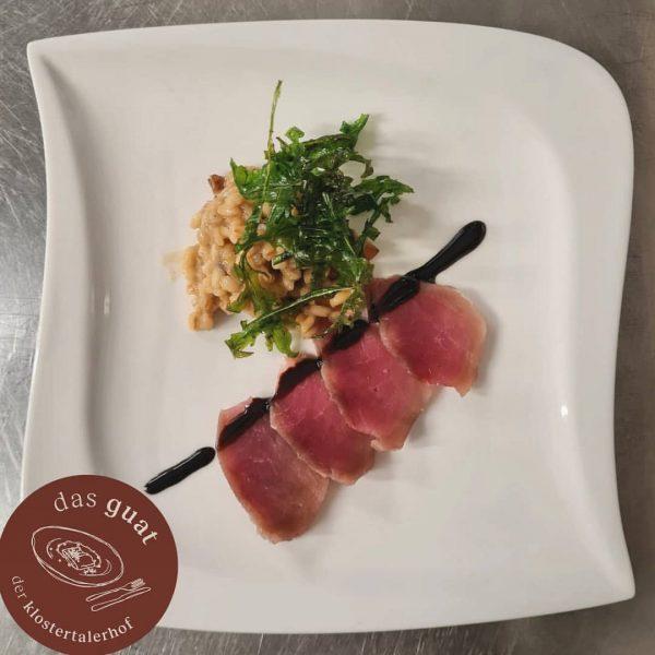 dein genussmoment. #dasguat #restaurant #derklostertalerhof #hotel #genussmomente #genießen #essen #inthemoodforfood #wein #food #foodlover #regional #kreativität @kloesterle_am_arlberg @unser_arlberg...