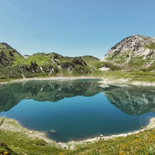 Unfortunately our last day in Austria. Hiked up to Formarinsee and the Freiburgerhütte. ...