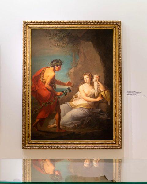 Angelika Kauffmanns Ausbildungsreise führte sie von 1759 bis 1766 durch ganz Italien. In ...