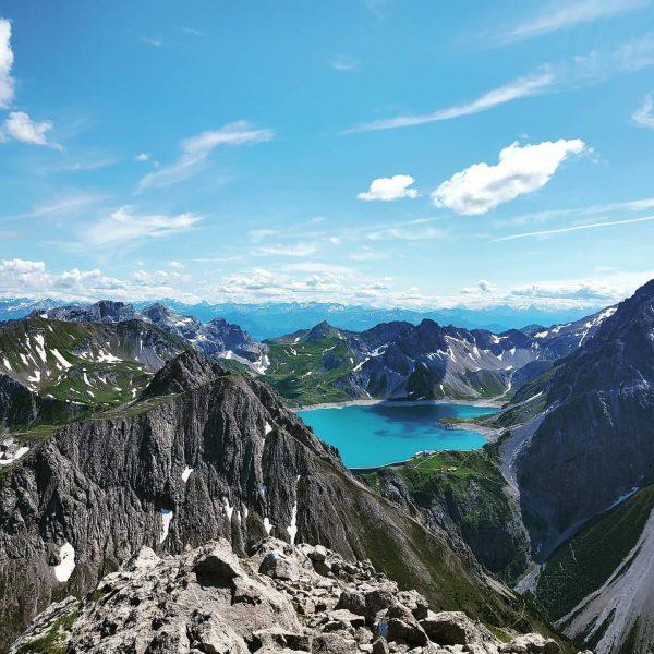 Saulakopf #rätikon #lünersee #wandern #Vorarlberg #austria #österreich #outdoor #berge #alpen Saulakopf