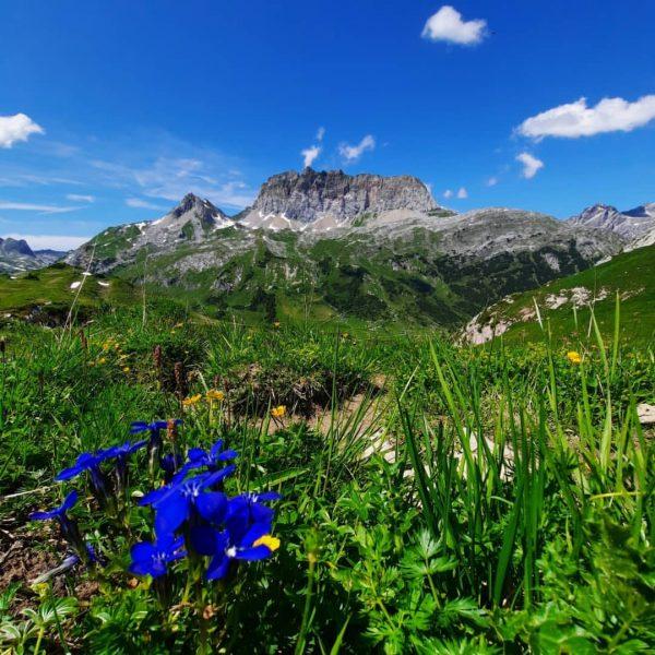 Anspruchsvolle, aber sehr schöne Bergtour vom Spullersee über den Gehrengrat zum Formarinsee im ...