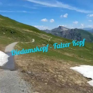 Wunderschöne Wanderung von der Mittelstation der Diedamskopfbahn zur Breitenalpe, weiter auf den Falzer Kopf und über das...