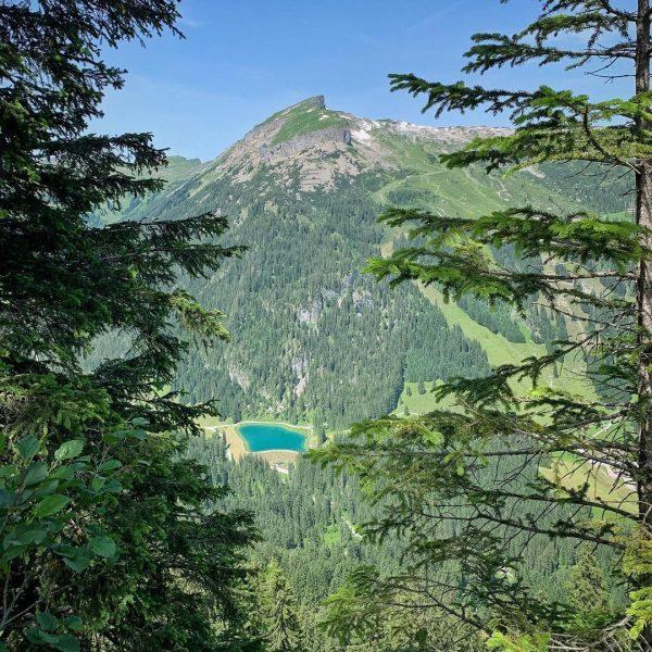 Aussicht auf dem Heuberggrat #heuberg #mittelberg #kleinwalsertal #wanderliebe #bergwelten Kleinwalsertal Österreich