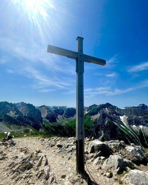 Ein Traum Tag 🥰🥰 #allgäu 🐮😅 #allgäueralpen #allgäuliebe #wandern #bergsteigen #walsersteig #2länderklettersteig #klettersteig ...