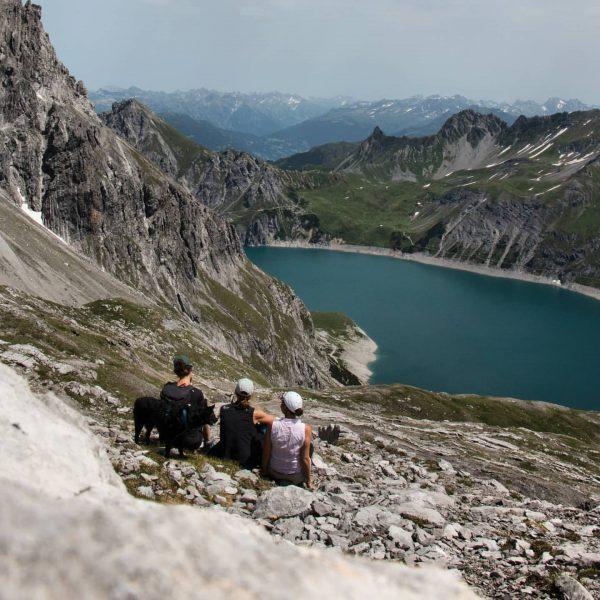 ✨✨✨ Der Lünersee: die Perle der Alpen. Er war einst einer der grössten ...