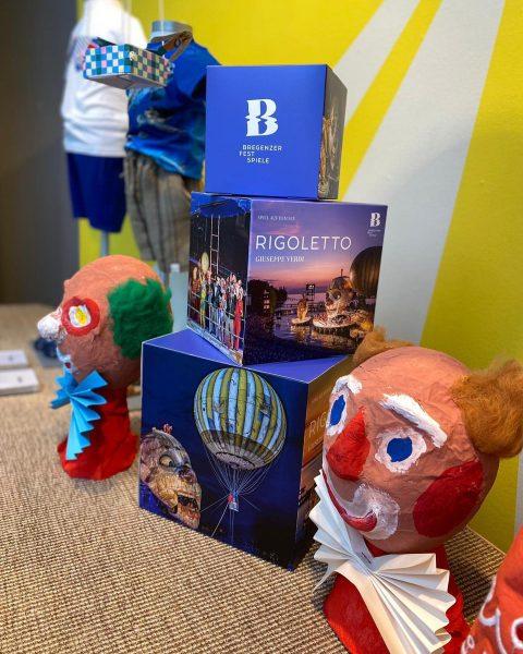 Im Rahmen eines Kunst- und Kulturprojekts mit dem Festspielhaus Bregenz, haben die Kinder des Kinderhauses Seepark Lochau...