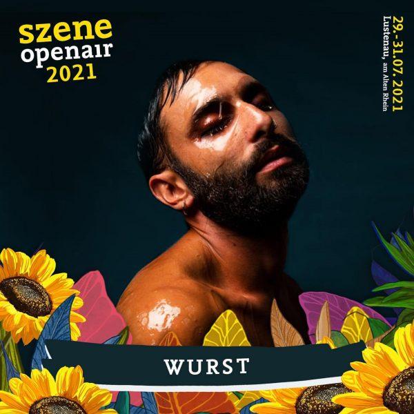 Special Guest: @conchitawurst x #szene2021 🌻 am Freitag, 30. Juli 2021 Szene Openair ...