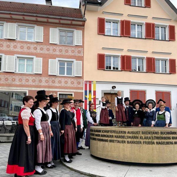 Trachtenschau in Hohenems Danke für die Einladung #Bregenzerwald #Grosswalsertal #Montafon #Leiblachtal #Klostertal #Rankweil ...