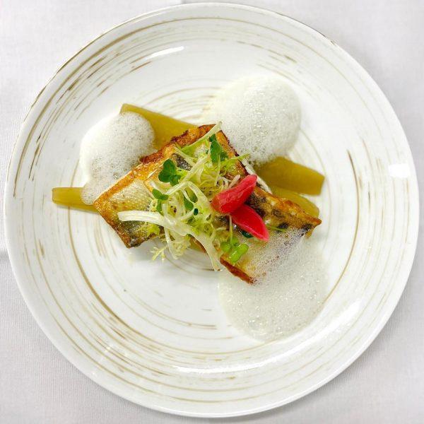 🐟 🐠 Es gibt Fisch 🐠 🐟 *** Zanderfilet Senfgurken Gerstenrisotto *** Wir ...