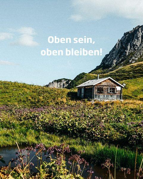 Eingebettet in die herrliche Bergwelt hat man hier das Gefühl, dass einem die ...