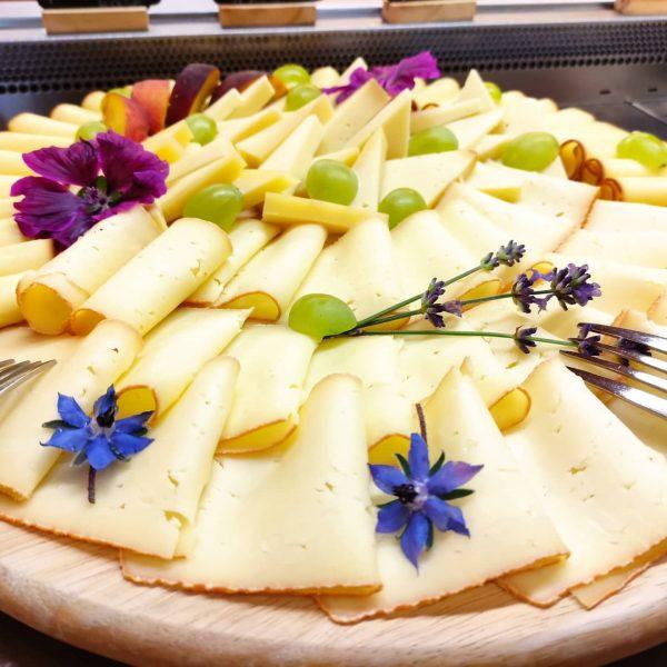 Endlich wieder Besucher am Hof 😁😁 heute durften sie ein wunderschönes Käse- und Wurstbuffet von Melitta genießen!!...