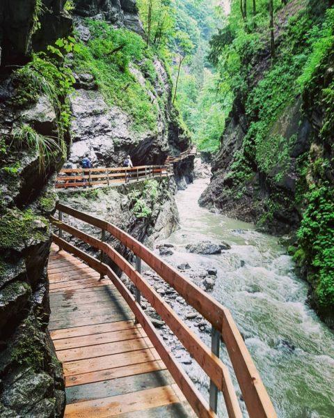Alplochschlucht, Dornbirn #austria #oostenrijk #dornbirn #vorarlberg #alplochschlucht #rappenlochschlucht #trails #offroad #cliff #cliffs #alps ...
