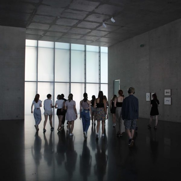 Students from Ulm visited Kunsthaus Bregenz today. We accompanied them on their gour ...