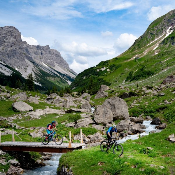 Out for an adventure ride in Vorarlberg, Austria.   Not a lot of trail info, not...