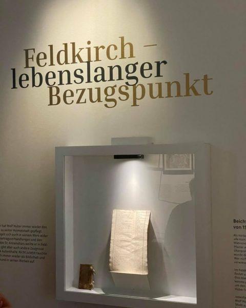 Mit einem Besuch der WolfHuber Ausstellung im Palais Liechtenstein der Stadt Feldkirch, konnten ...