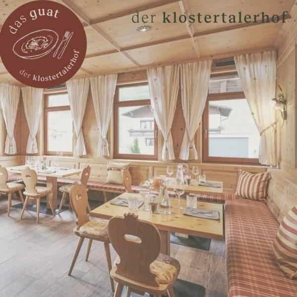 dein genussmoment. #dasguat #restaurant #derklostertalerhof #hotel #stube #gemütlich #fichtenstube #regional #tradition #kreativität #modern ...
