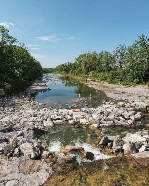 Die Dornbirner Ach ist der wichtigste Fluss zur Entwässerung von @6850dornbirn. Sie entspringt ...