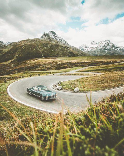 Majestätisch ragen sich die Berge entlang der Silvretta-Hochalpenstraße in den Himmel. ⛰ Was ...
