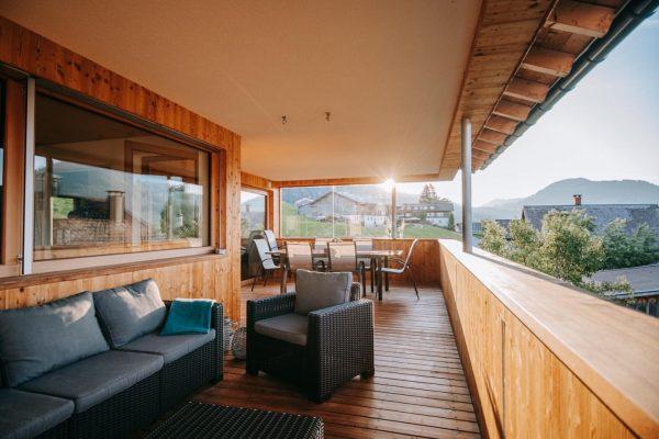 SSS….Sommer, Sonne, Seele baumeln lassen…genießen Sie auf der traumhaften Terrasse des Baldauf Apartments ...