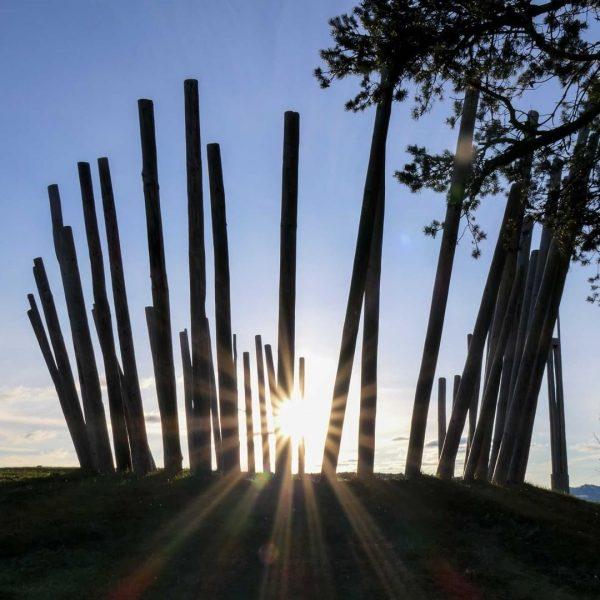 Am Brüggelekopf befindet sich der Musikwanderweg. Der Erlebnispfad für Musik- und Naturfreunde. Es ...