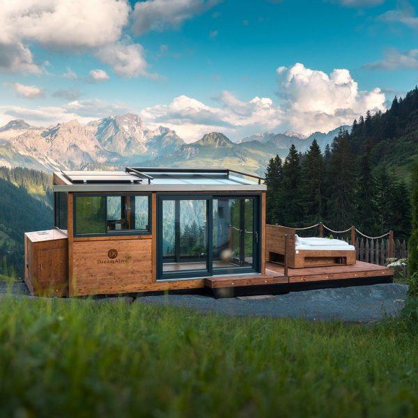 Ein Traum wird wahr…✨ Die DreamAlive Sleep Lodge ermöglicht nicht nur den Schlaf ...